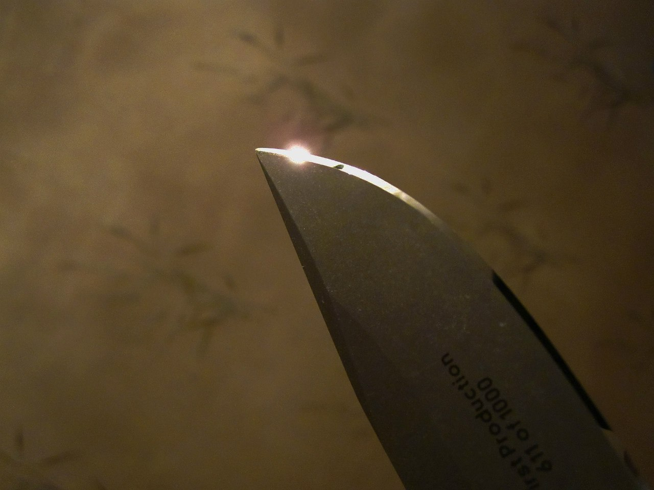 Blade after sharpening by Dmitry «Bariandr» Bass
