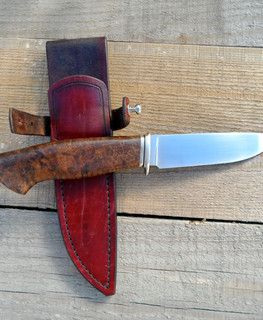 handemade tourist knife small fighter 23 cm with CPM3V blade buy (order) in Novosibirsk
