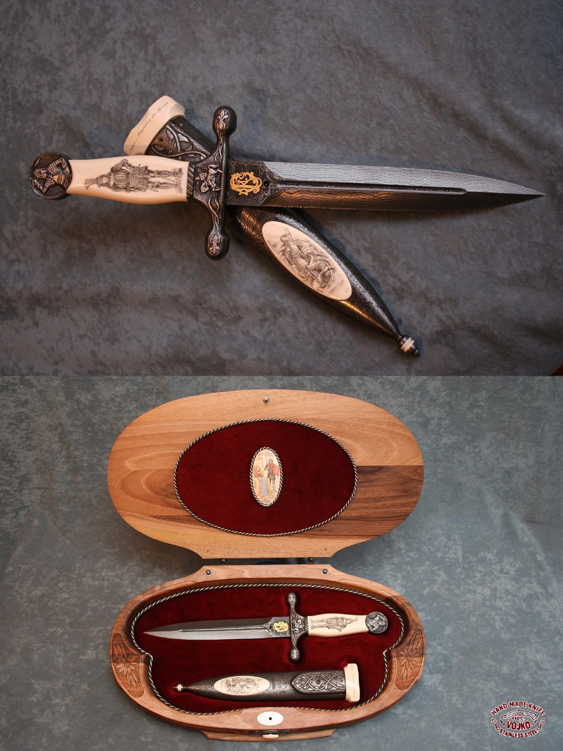 The dagger and the sheath
