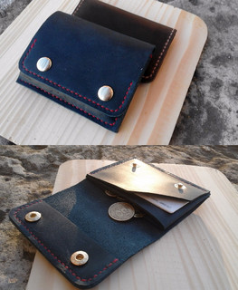"Mini wallet in different colors be the workshop ""Aries and Taurus"""
