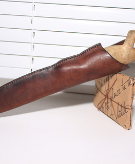 "Leather sheath by workshop ""Cactus"""