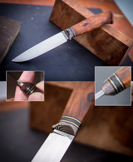 Russian handmade knife