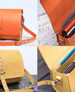 modern woman small craft Genuine leather bag brown straw color leather buy in Almaty, Kazahstan