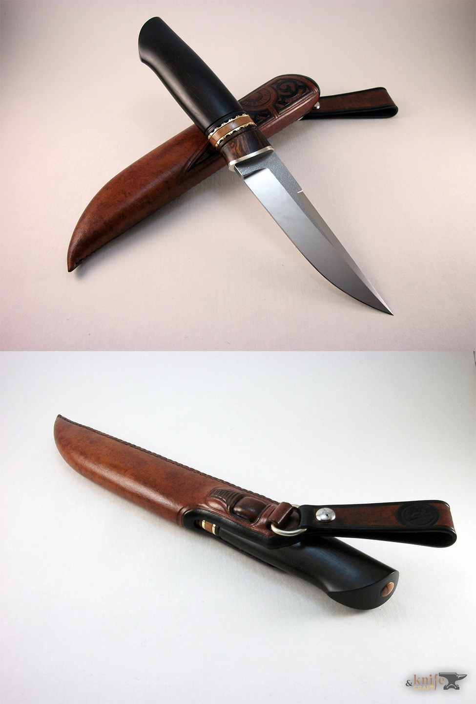 best hunting scandi knife 270 mm in Petrozavodsk