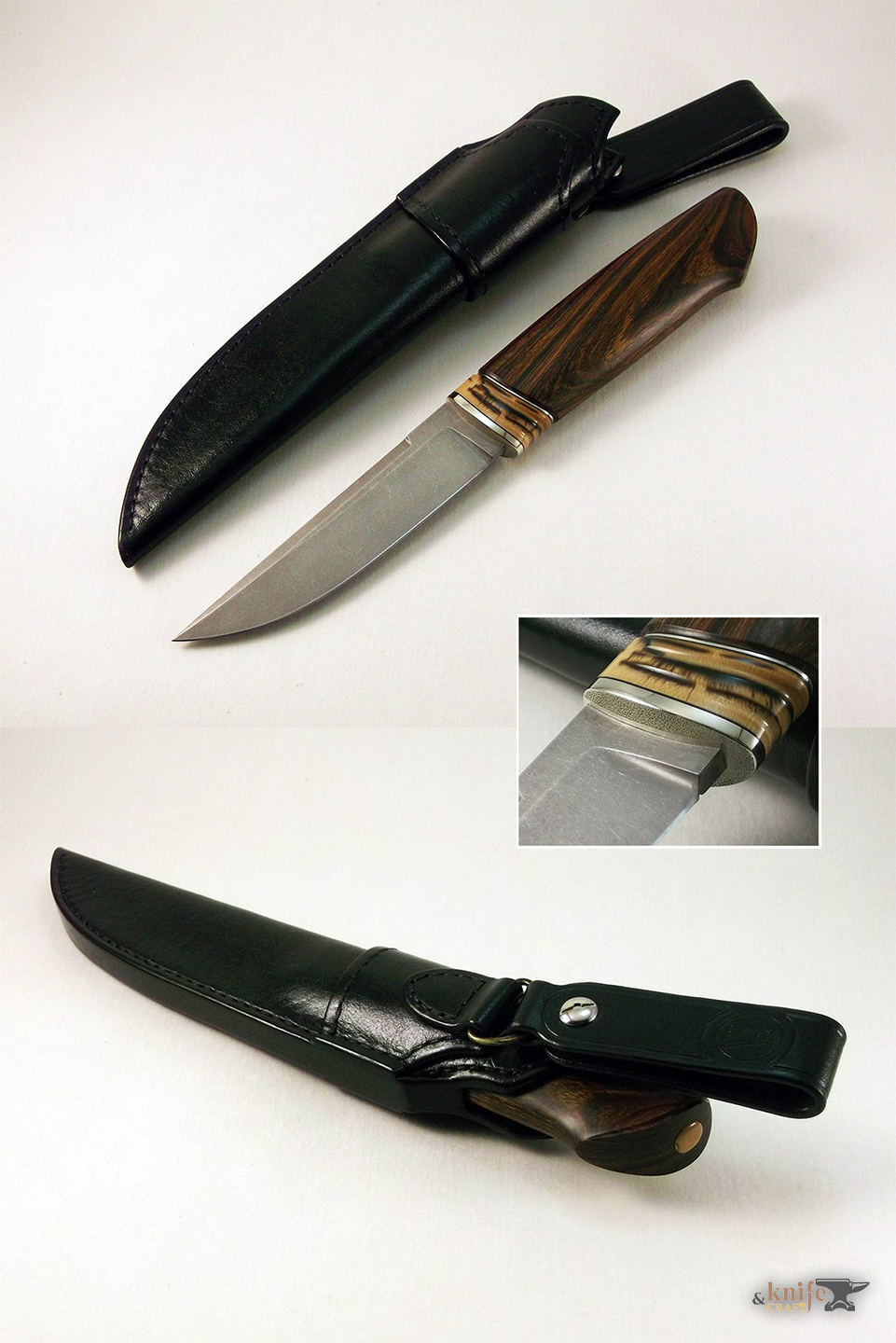 Best handemade Scandinavian knife 19 cm in Petrozavodsk