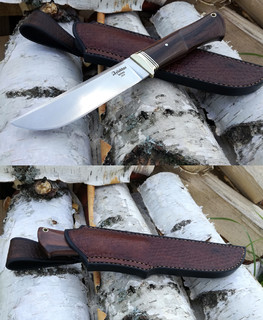 Tourist Fixed Blade brown Knife 18 cm n690 Eclusive Gift for MenEclusive Gift for Men