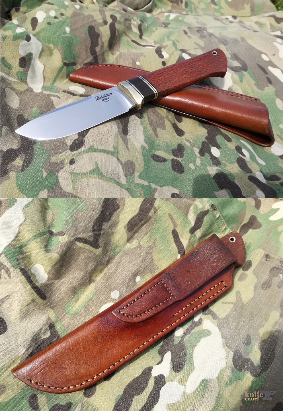 custom russian hunting knife 18 cm with m390 buy in Ryazan and Moscow