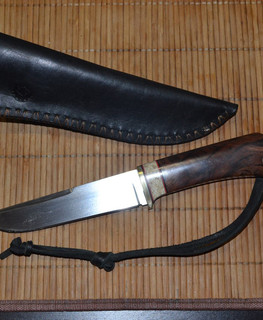 handemade hunting knife to order in Samara Russia
