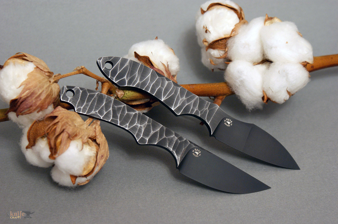 Russian Handemade Skeleton Knives with m2 steel